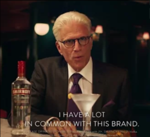 Ted Danson Vodka Ad