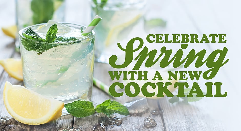 Celebrate spring with a new cocktail