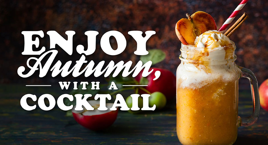 Enjoy Autumn with a cocktail